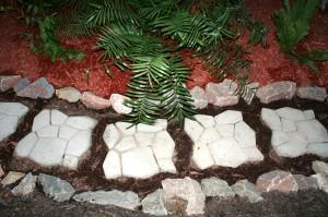 Paden en Stepping stones